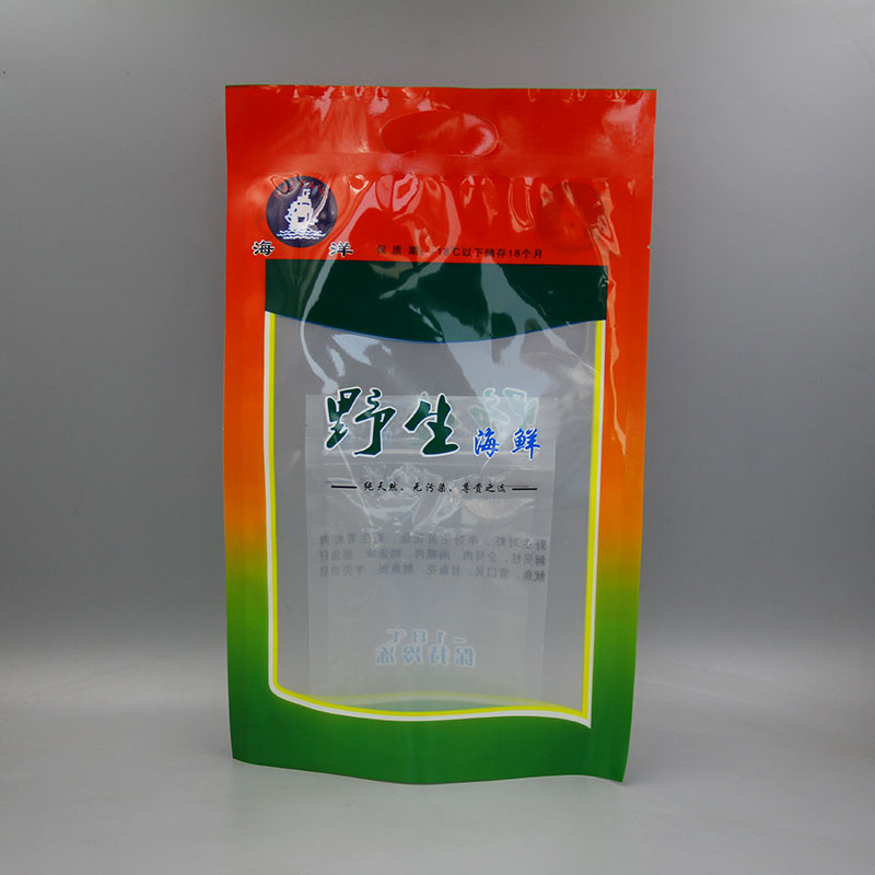 三边封野生海鲜包装袋