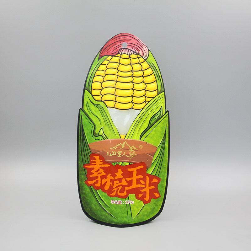 异形玉米自立拉链
